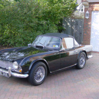 1963 TR4 RHD Overdrive and Surrey Top – For Sale