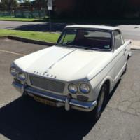 Triumph 12/50 Coupe Aussie style