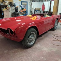 1964 Triumph TR4 Restoration Project – Wegs Garage