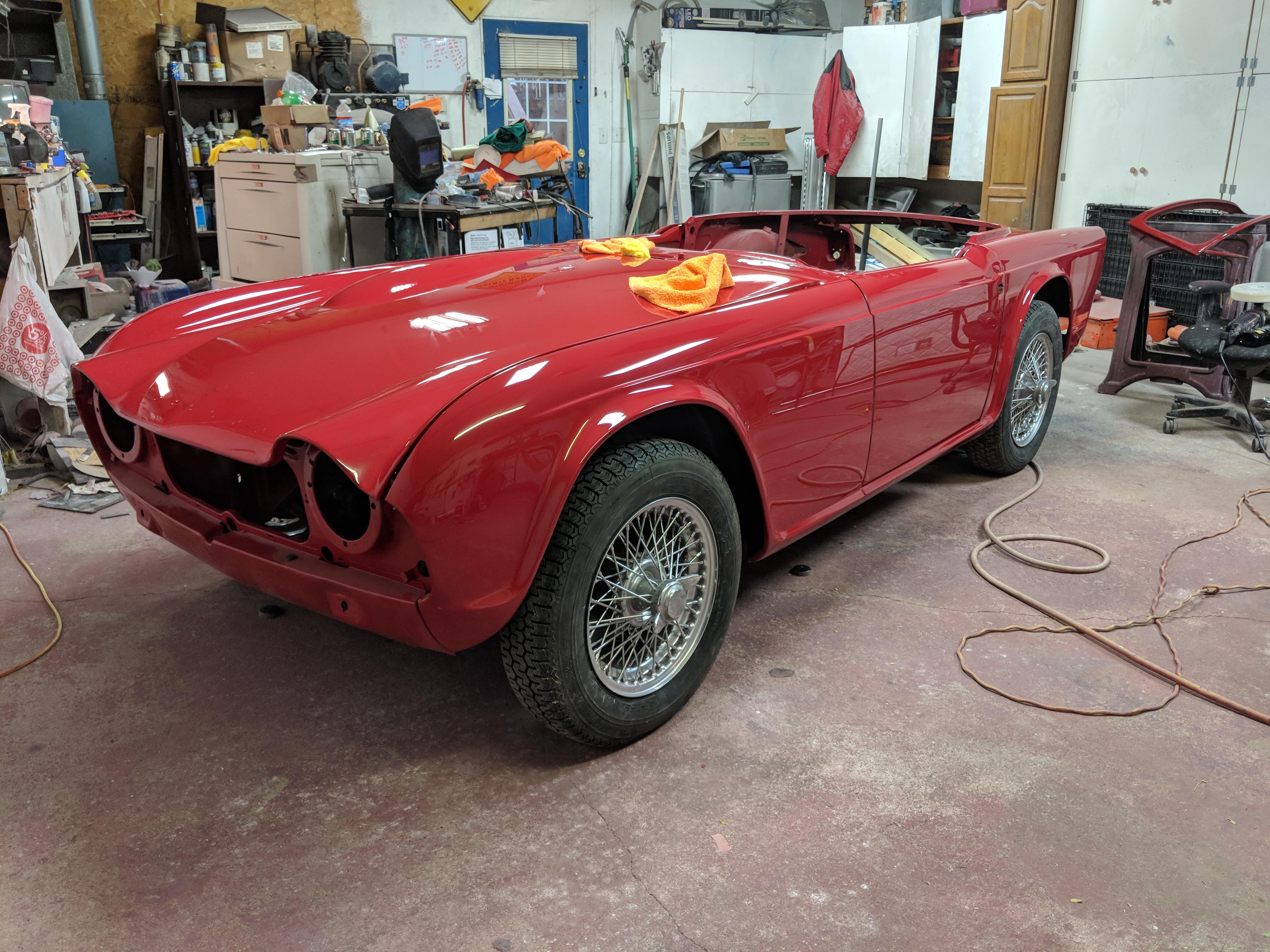 Triumph Tr4 Restoration Project Wegs Garage Triumph Owners